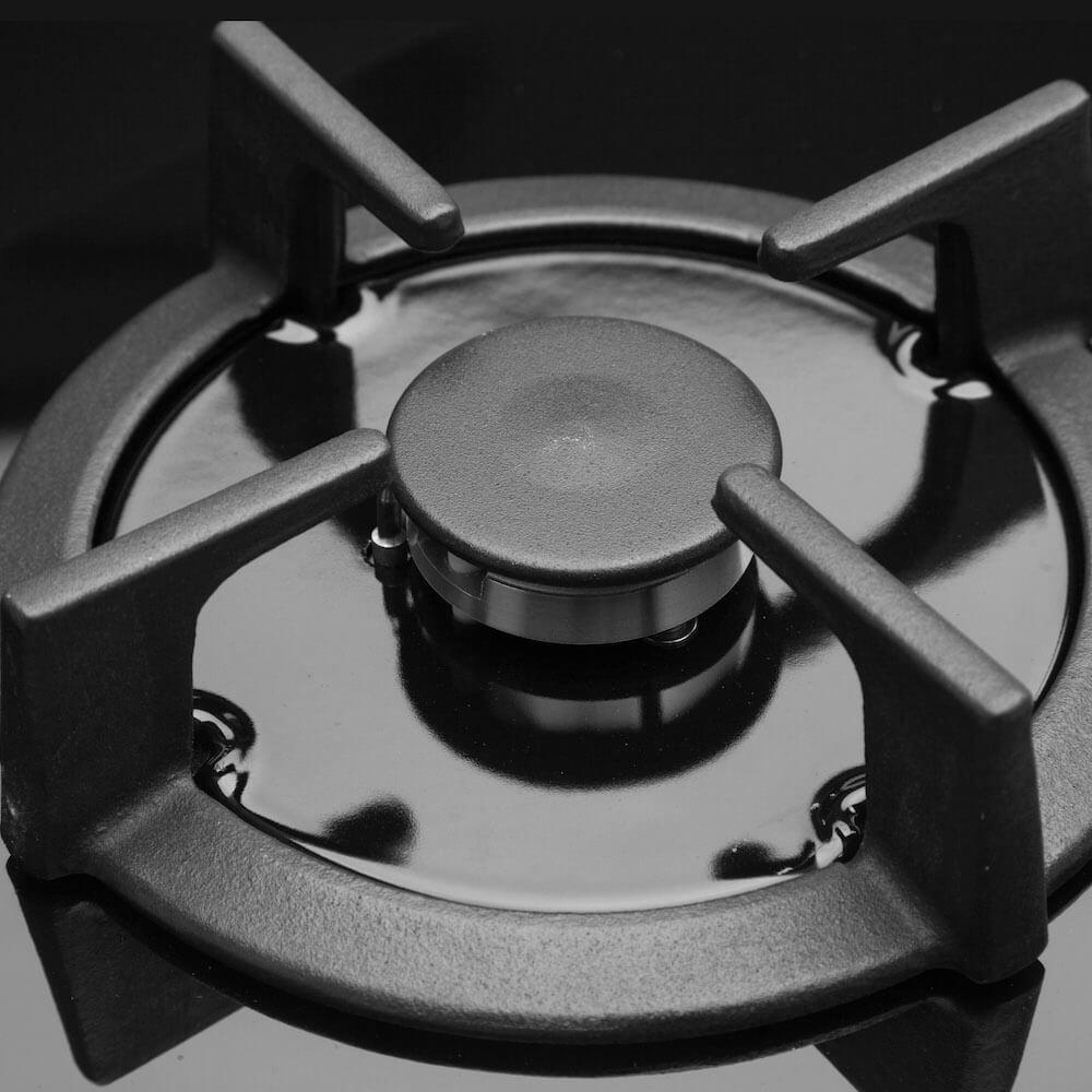 Gasfornuis gas op glas RVS 13