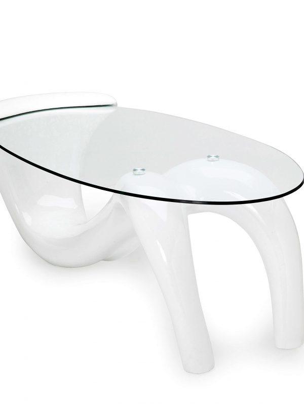 Goedkope salontafel glas