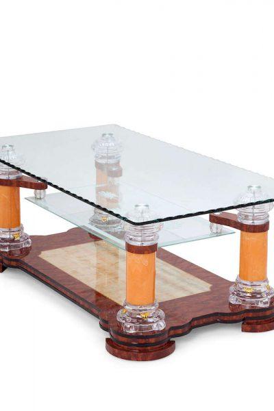 Salontafel glas design