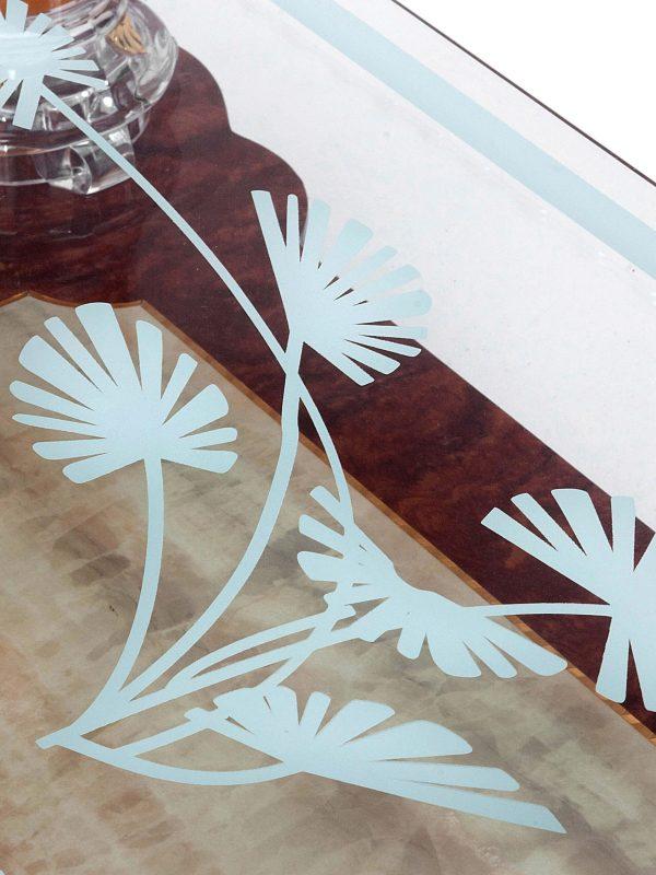 Salontafel glas design 7