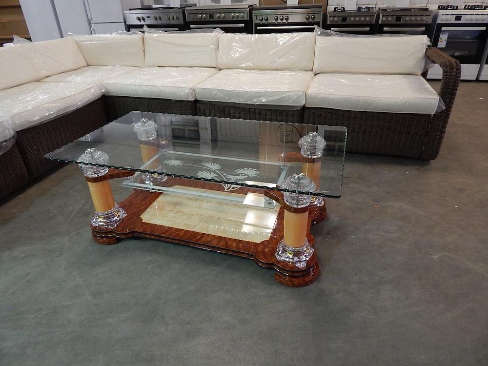 Salontafel glas design moderne exclusieve salontafel van de zwaan