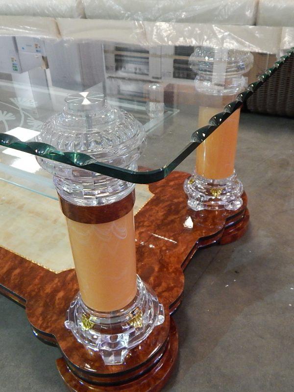 Salontafel glas design 5