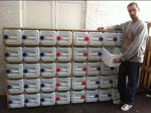 Groot aantal Jerrycans 20 liter