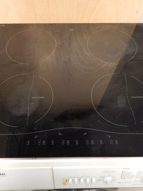 Tweedehands inductie kookplaat