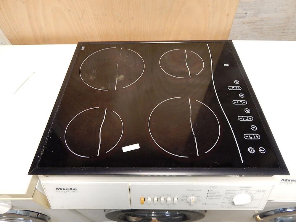 Keramische inbouw kookplaat