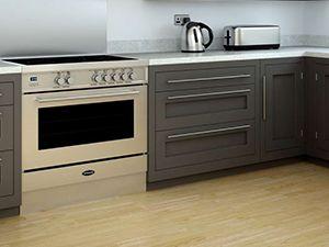 Zwart Keuken Fornuis : Gasfornuis 90 cm meerdere zeer goedkope modellen in zwart of rvs