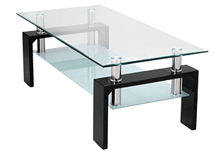 Glazen Tafel Ikea : Glazen salontafel zeer uiteenlopende modellen goedkope moderne