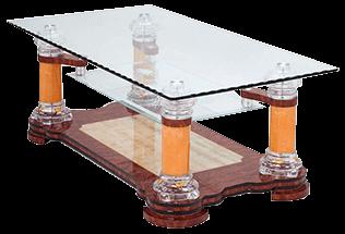 Rechthoekige Glazen Tafel.Glazen Salontafel Zeer Uiteenlopende Modellen Goedkope Moderne