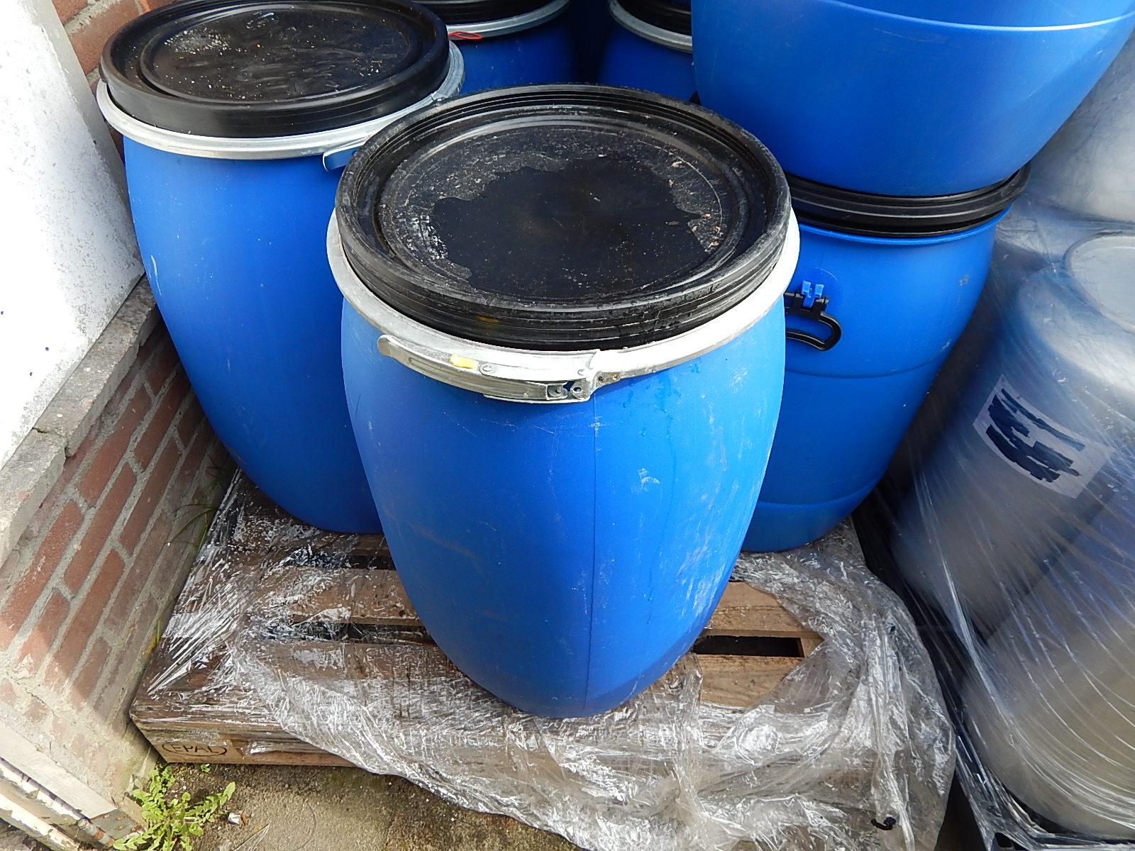 120 liter tonnen met deksel