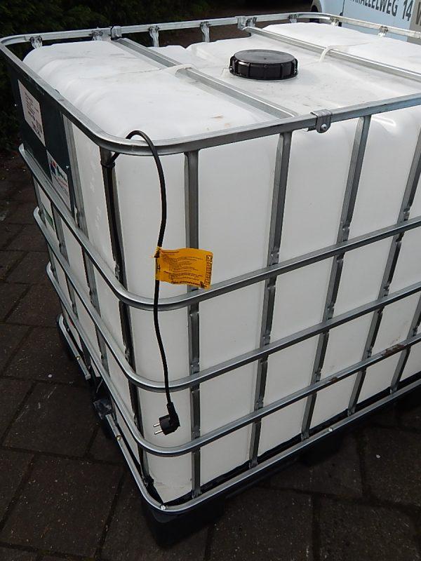 IBC container met verwarming
