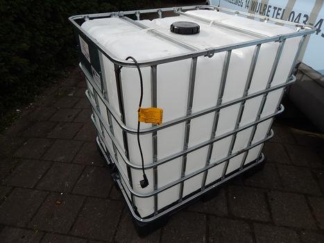 IBC container verwarmd