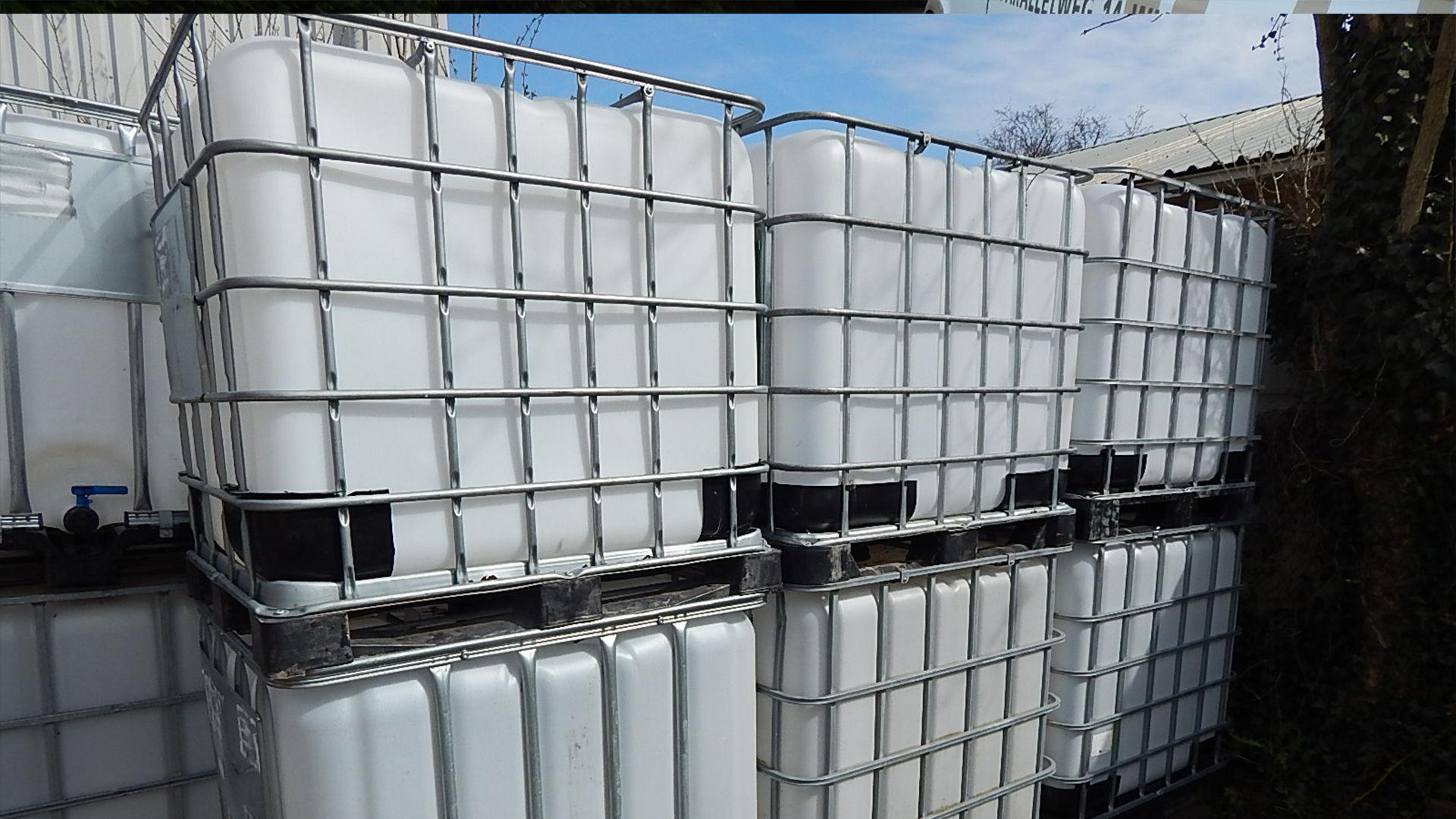 IBC watertanks op voorraad