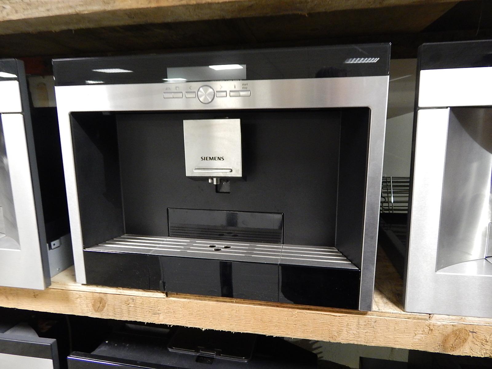 Siemens inbouw koffiemachine zeer goed onderhouden 2e hands for 2e hands meubels
