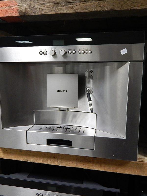 Inbouw koffieapparaat Siemens