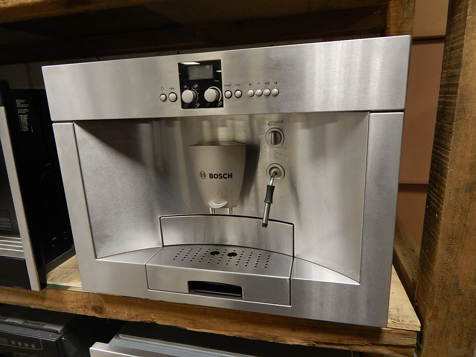 Bosch inbouw koffiemachine