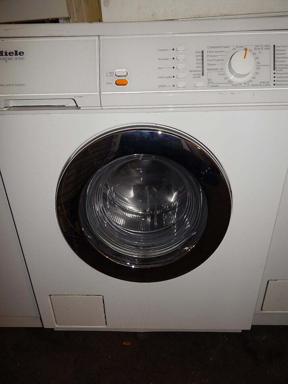 Wasmachine Miele met aqua stop