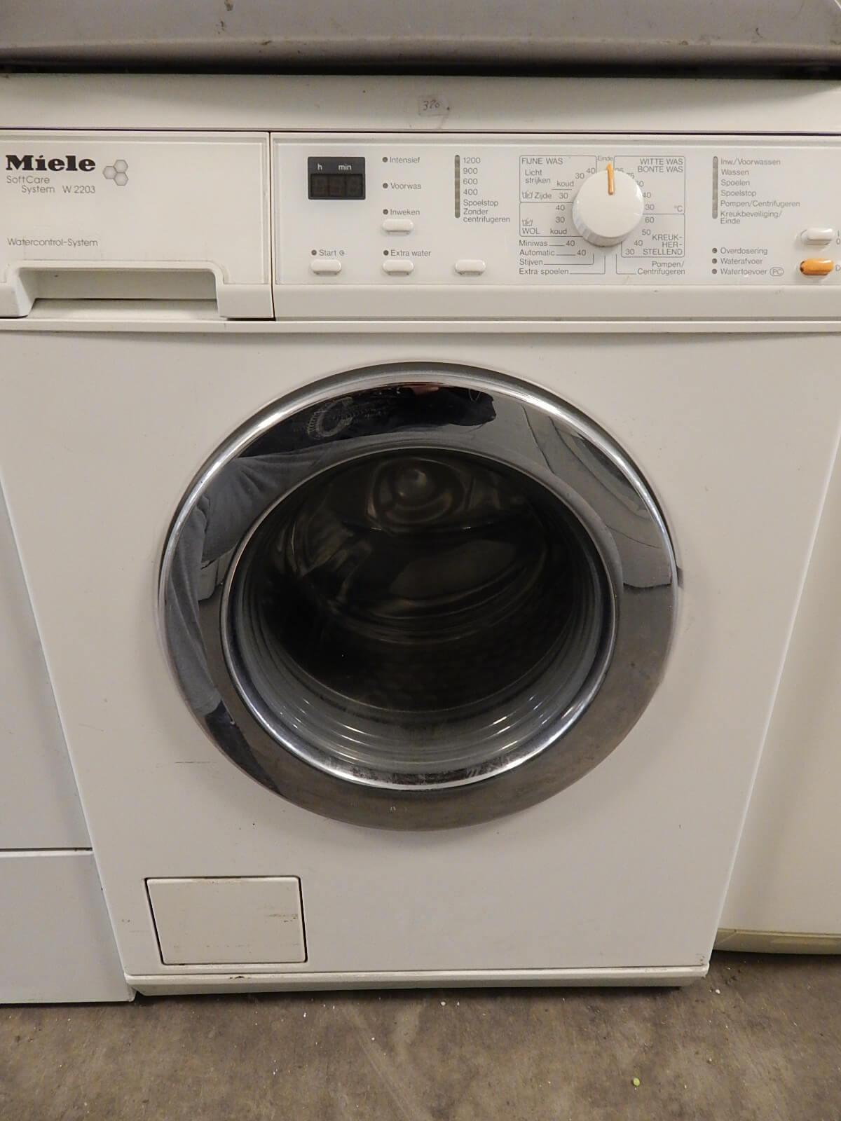 Tweedehands Miele wasmachine