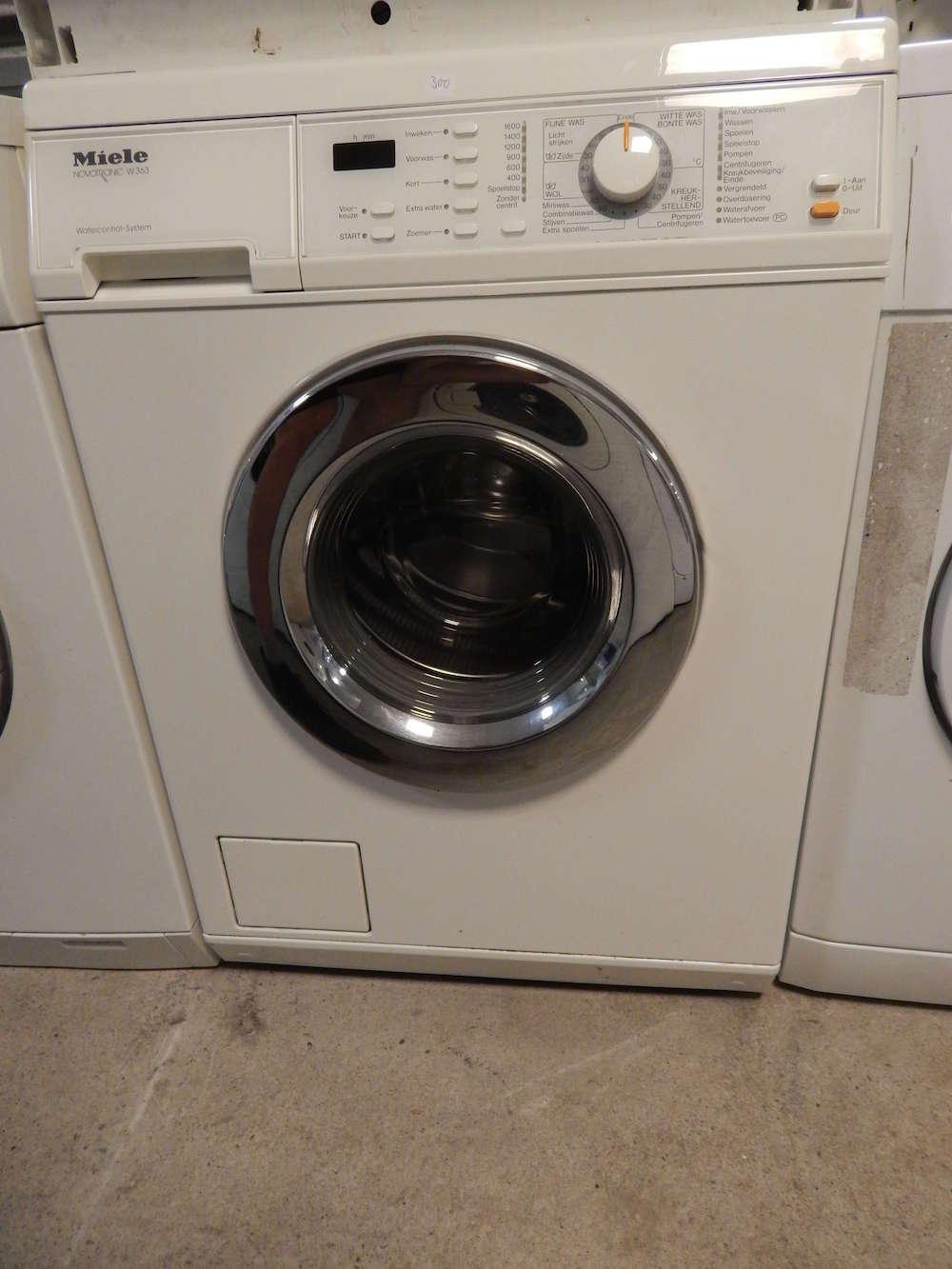2e hands Miele wasmachine Novotronic