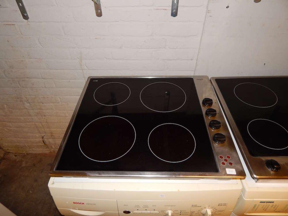 Verrassend Gebruikte keramische kookplaat | Merk Pelgrim, inbouw met 4 kookzones JZ-83
