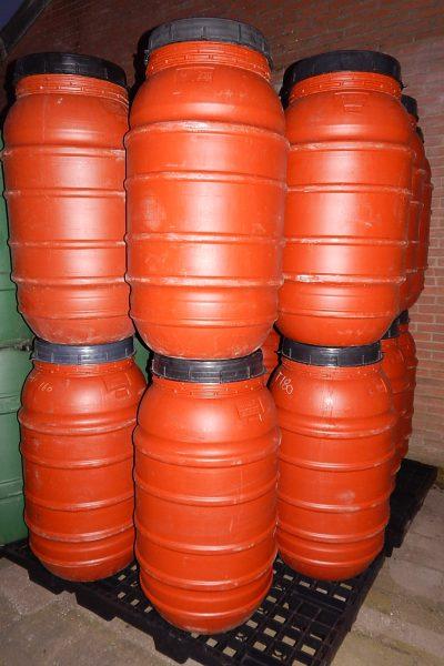 220 liter tonnen