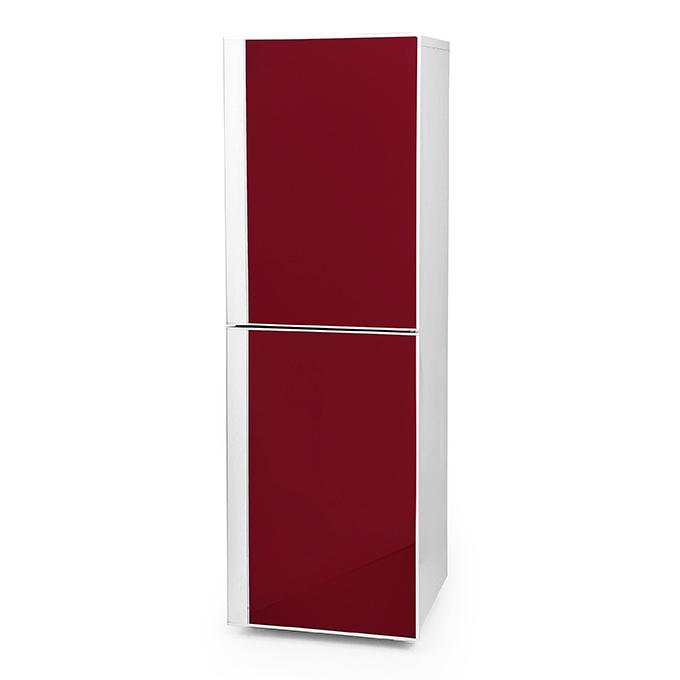 Goedkope koelkast rood