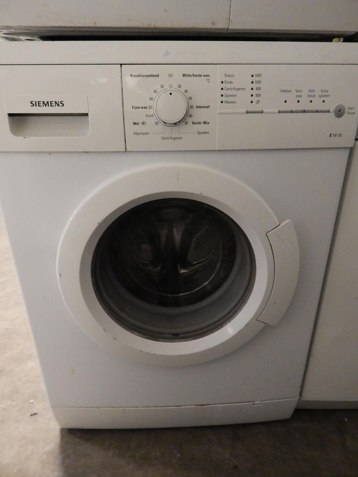 Siemens wasmachine Zwanenburg
