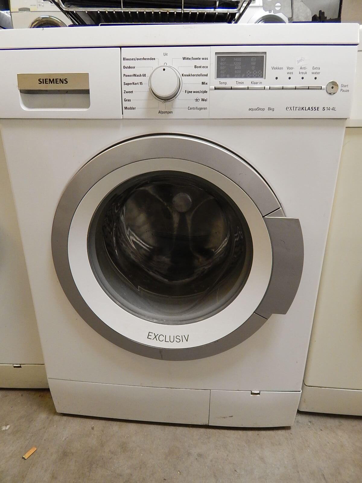 Siemens wasmachine Amsterdam