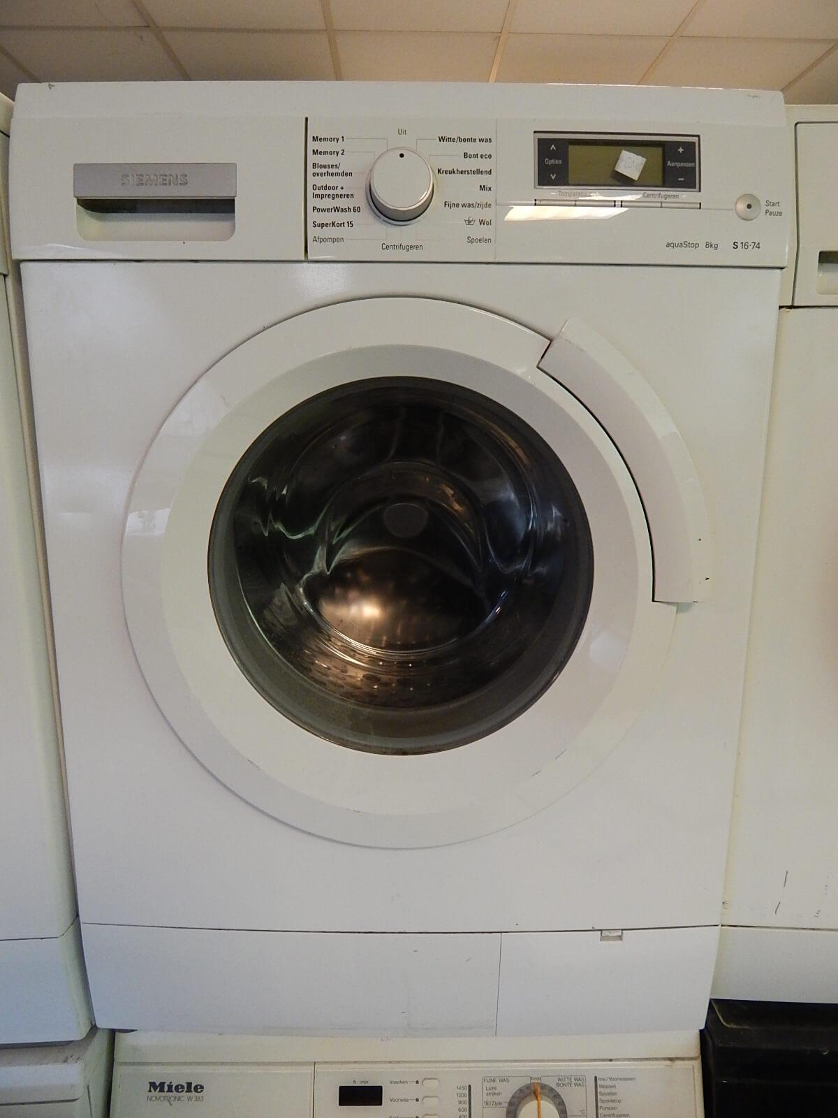 goedkope wasmachine siemens s 1674 8 kg vulgewicht