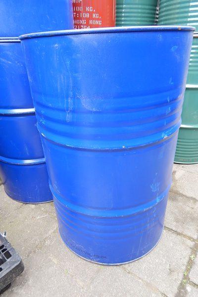 Stalen vaten 200 liter