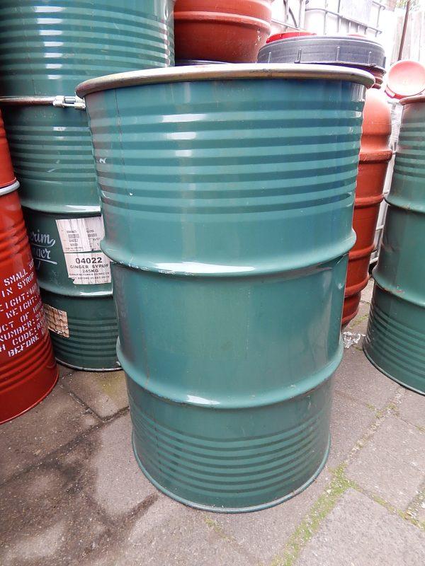 200 liter metalen vat 2