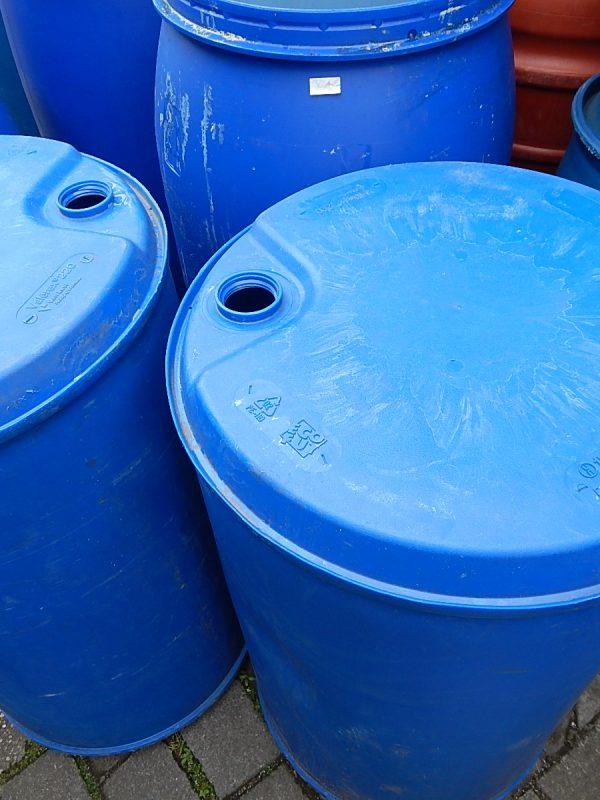 200 liter vaten zonder dop