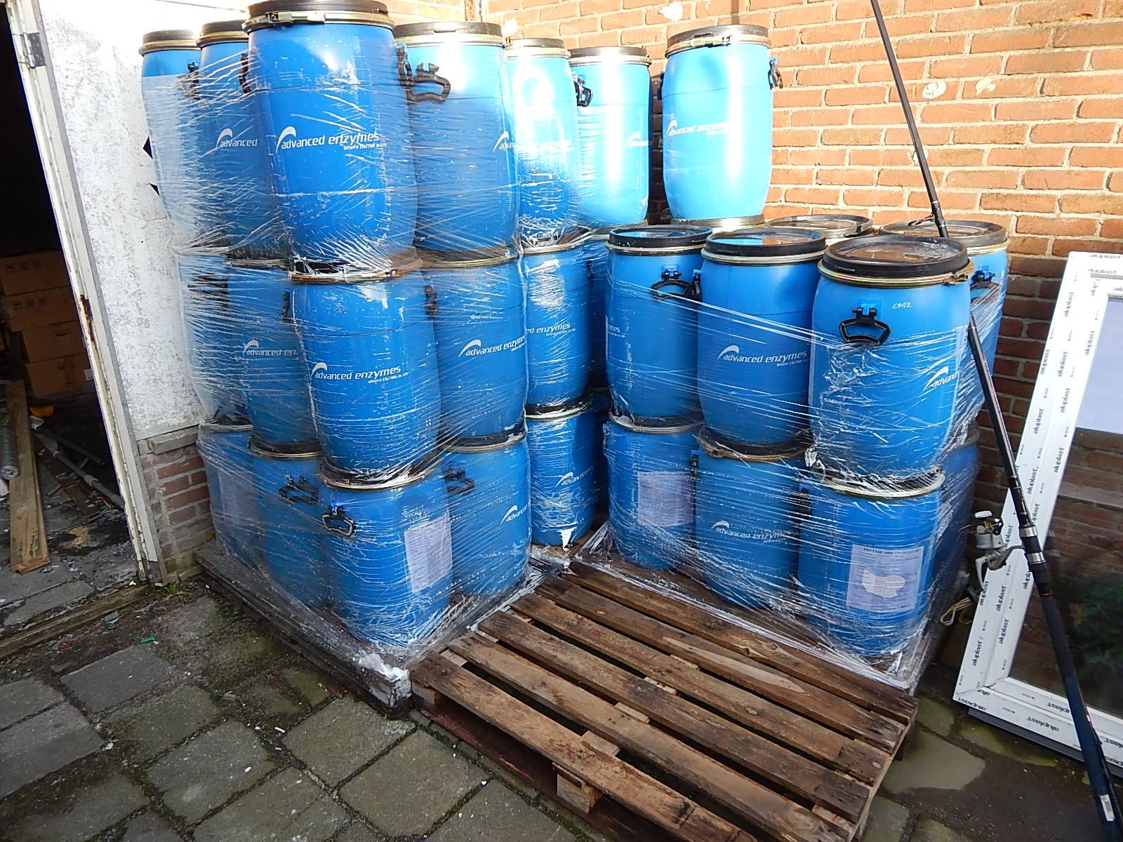 60 liter tonnen met deksel