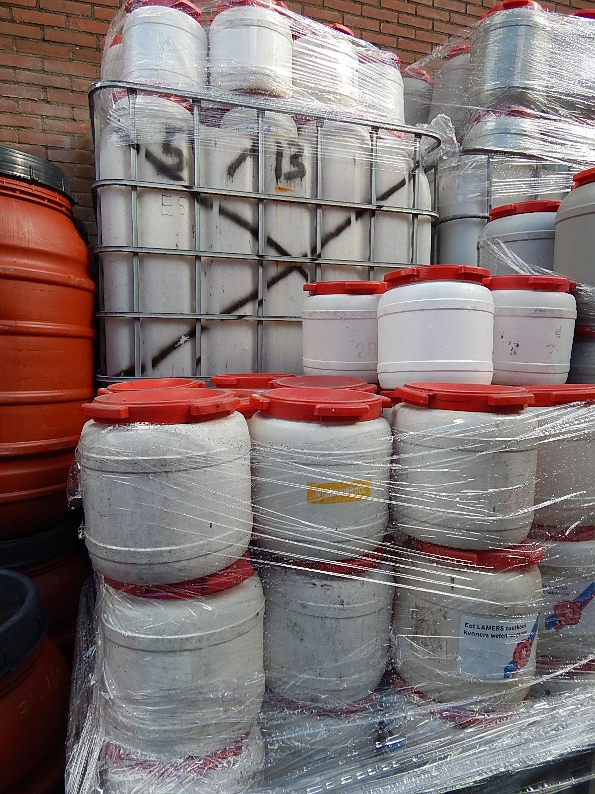 partij tonnen 15 liter