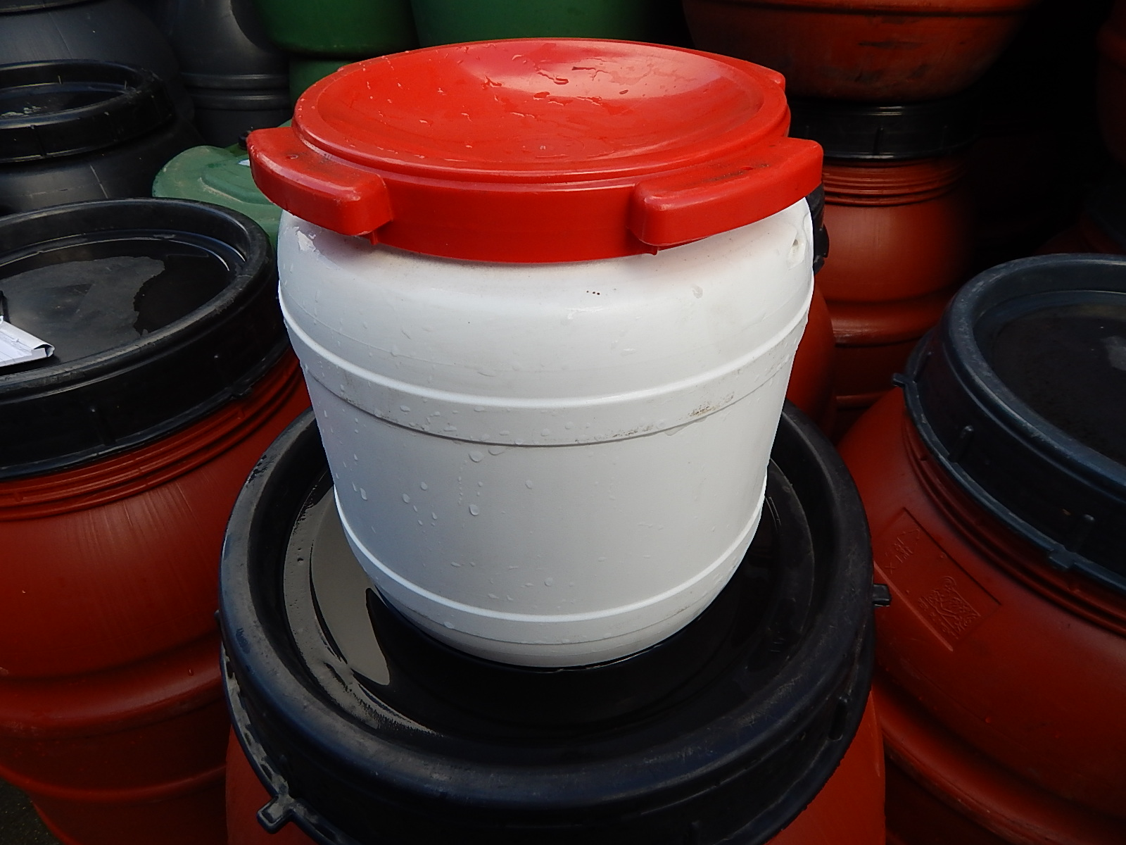 15 liter tonnen