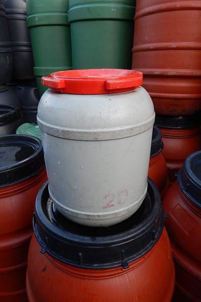 25 liter tonnen met deksel