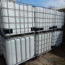 Aantal 1000 liter IBC containers