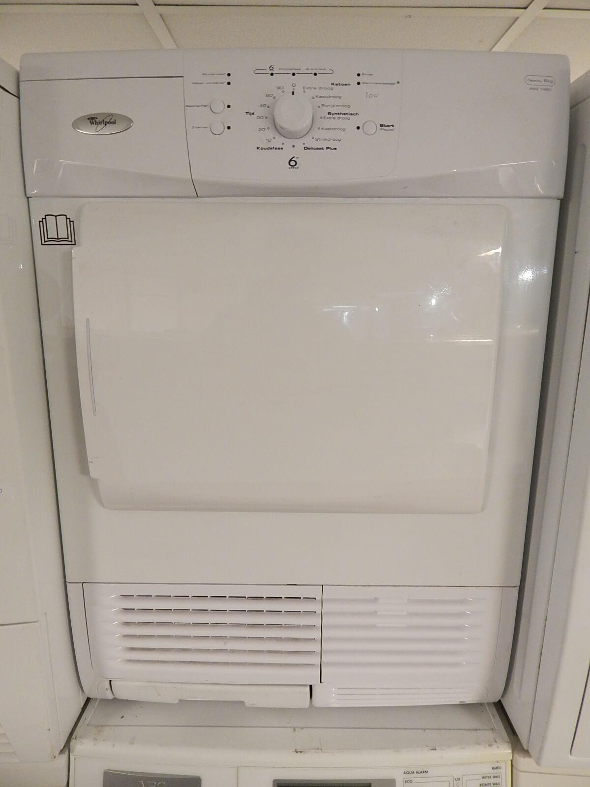gebruikte Whirlpool wasdroger