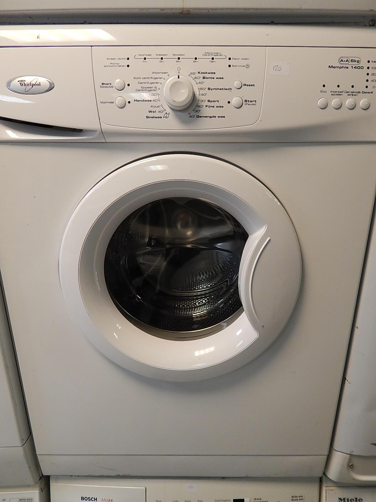 Gebruikte Whirlpool wasmachine