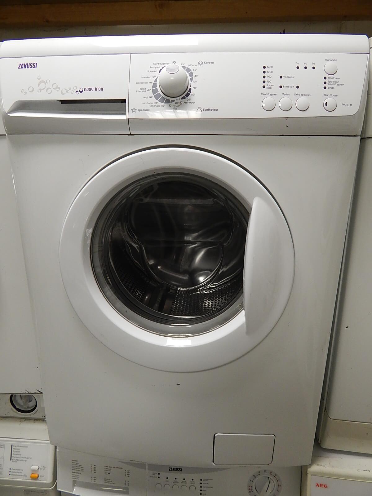 Zanussi wasmachine met aqua stop en uitgestelde start 1
